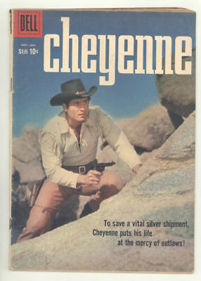 1959 CHEYENNE #13 comic book with CLINT WALKER photo cover