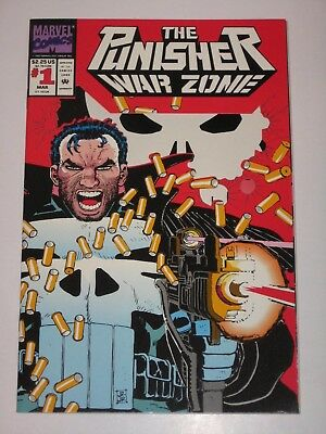 The Punisher War Zone 1  Unread High Grade Near Mint Marvel Comics