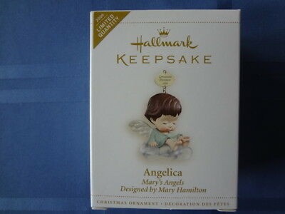 Hallmark Ornament Mary Angels Angelica Limited Quantity 2006 Mint In Box