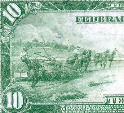 HGR SUNDAY 1914 $10 FRN ((Beautiful)) AWESOME GRADE