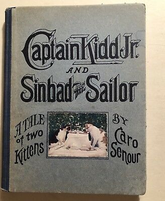 Captain Kidd Jr. And Sinbad The Sailor A Tale Of Two Kittens Caro Senour 1908
