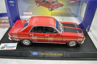 1:24 Ford Falcon XW GTHO in Candy Apple Red Ozlegends Diecast model
