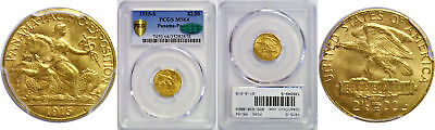 1915-S Panama-Pacific $2 1/2 Gold Commemorative PCGS MS-64 CAC