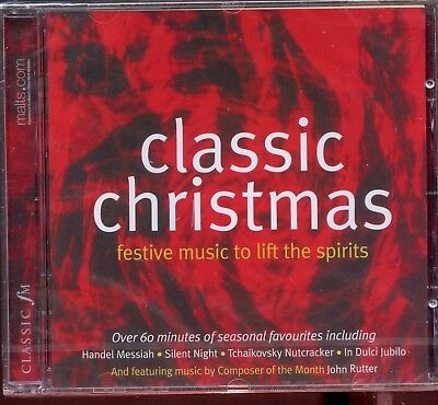 Classic FM - Classic Christmas  Festive Music To Lift The Spirits - New & Sealed