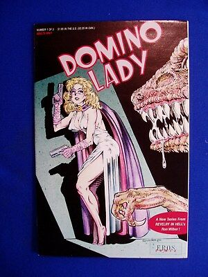 Domino Lady 1 (of 3) by  Ron Wilber. underground thriller. FN+.