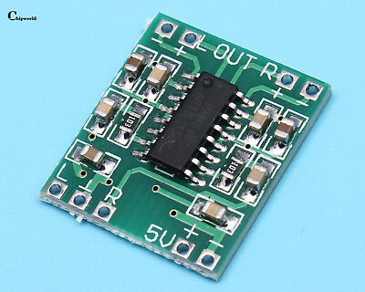 20pcs Digital Power Amplifier Board 2*3W Class D Audio Module USB DC 5V PAM8403
