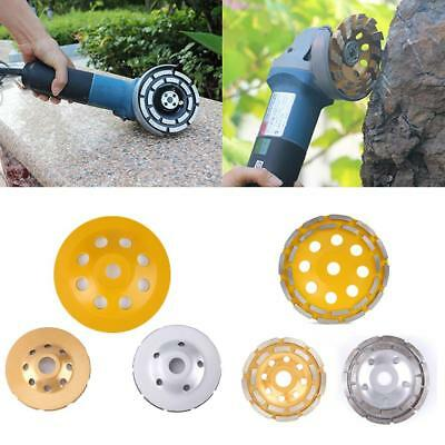 115/125/180mm Diamond Grinding Cup Wheel Disc Concrete Stone Marble Masonry Tool