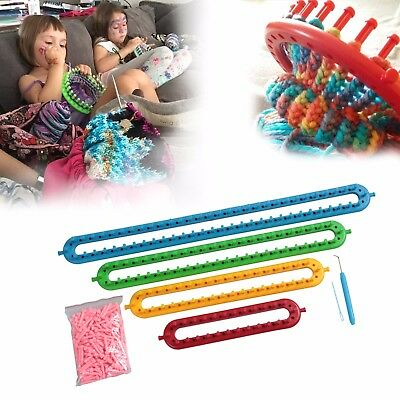 24, 34, 44, 54cm Long Knitting Knit New Version Loom Kit With Extra Peg