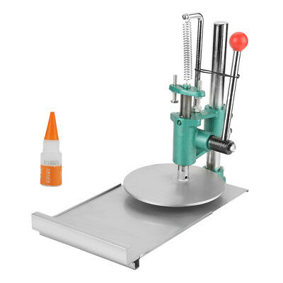 Manual Dough Press Machine Dough Roller Sheeter for Making Pizza Pastry gbd