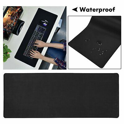 Waterproof Large Size Gaming Mouse Pad Desk Mat Anti-slip Rubber Speed Mousepad