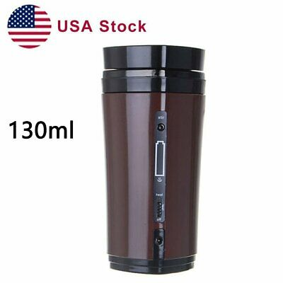 Heated Warmer Coffee Mug Cup  USB Rechargeable with Automatic Stirring