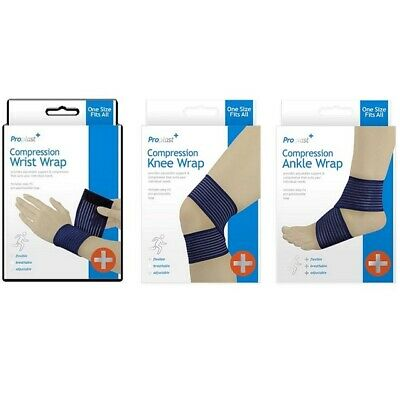 Compression Wrap Support For Ankle Knee Wrist - Breathable Flexible Comfortable