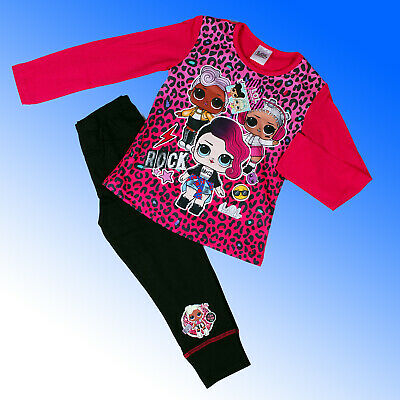 Girls Official Authentic LOL Surprise Dolls Pyjamas Age 4 -10 Years
