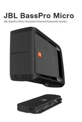 "JBL BassPro Micro 8"" Car Audio Active Amplified Subwoofer removeable dockable"
