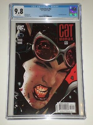 Catwoman 52 (April 2006) CGC Graded 9.8 Adam Hughes Cover, Black Mask Appearance