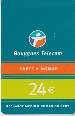 Recharge Gsm - Bouygues Telecom  ***  24€ / 2 ***