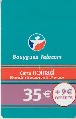 Recharge Gsm - Bouygues Telecom  ***  35€ + 9 ***