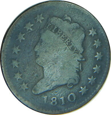 1810 Classic Head Large Cent Good Condition, Rare Estate Find - Z OP