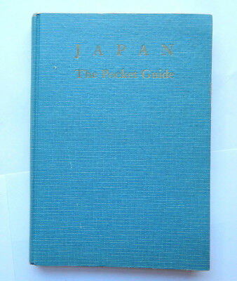 Japan the Pocket Travel Guide Hardcover (May 1953)