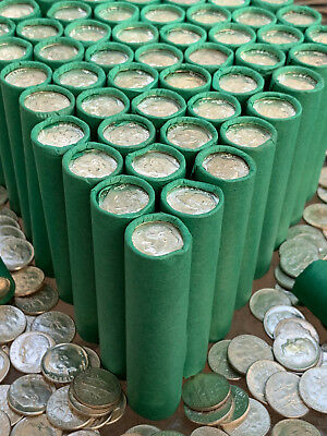 Old Uncirculated Silver Dime Roll Vintage Barber Mercury Silvers Bullion Estate!
