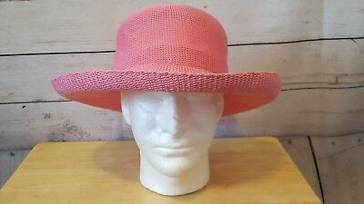 WALLAROO HAT COMPANY Boulder CO Hat Red   White w  Drawstring NEW ... aab26769fecf