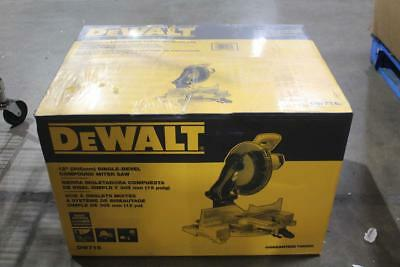 "DeWalt 12"" Single Bevel Compound Miter Saw DW715"