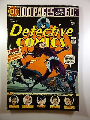 Detective Comics #444 100-Pager Solid VG Condition!!
