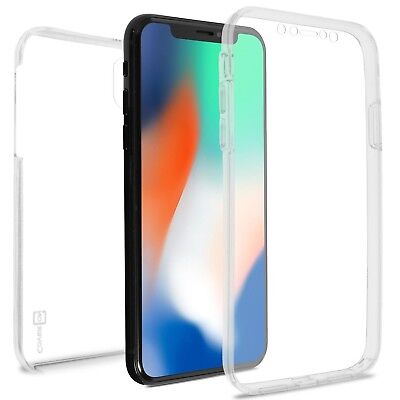 Clear Phone Case For Apple iPhone XR / 10R Front and Back Slim Hybrid Cover
