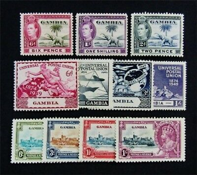 nystamps British Gambia Stamp # 125 // 151 Mint OG H $30