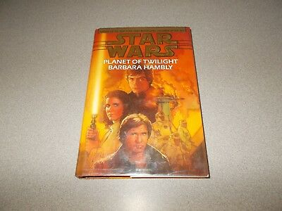 1997 Barbara Hambly Star Wars Planet of Twilight hardcover 312 page book used