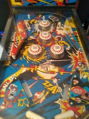 1977 Star Explorer Pinball Machine Great Condition Fully Working with Sounds