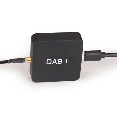 DAB+ Digital Aerial MCX Amplified Car Radio Antenna for Android 6.0/7.1/8.0 Unit