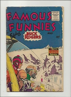 Famous Funnies 217 G/VG 3.0 Buck Rogers Golden Age Sci-Fi 1955