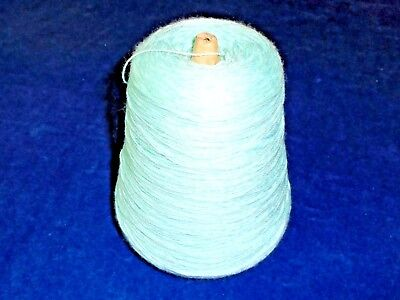 500gms - 4ply SILKY CREPE - PALE MINT GREEN - HAND/MACHINE KNITTING YARN - new