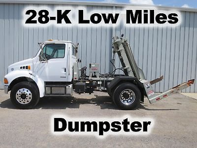 Cummins Garbage Dempster Dumpster Delivery Haul Trash Container Truck 28-K Mi
