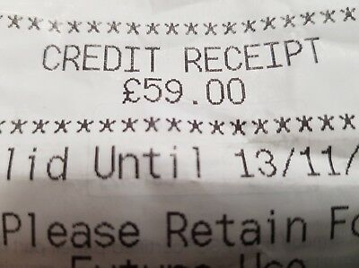 Marks And Spencer Credit Voucher!! £59