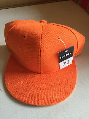 """Brand New Decky Fitted Baseball Cap Size 7 3/8"""" - MUST GO"""