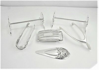 Lot Of Miscellaneous Sterling Items, 80 Grams