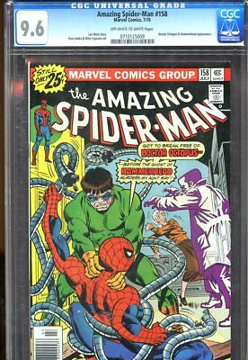 Amazing Spider-Man #158 (1976) No. 158 Cgc 9.6 Marvel Comics 1976