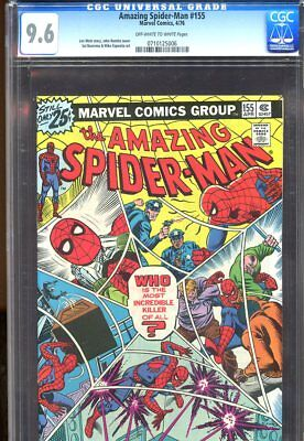 Amazing Spider-Man #155 (1976) No. 155 Cgc 9.6 Marvel Comics 1976
