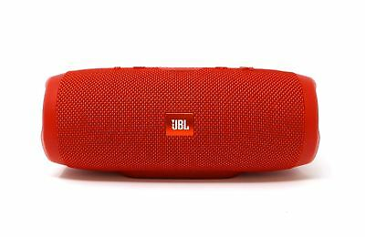 JBL CHARGE 3 Portable Bluetooth Wireless Speaker Red IPX7 Waterproof 6000mAh