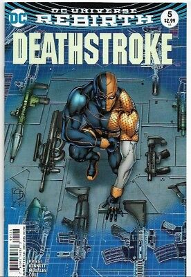 Deathstroke #5 Rebirth Variant Cover NM (2016) DC Comics