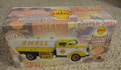 Nib 2002 First Gear Shell 1937 Chevy Tanker Diecast Unopened