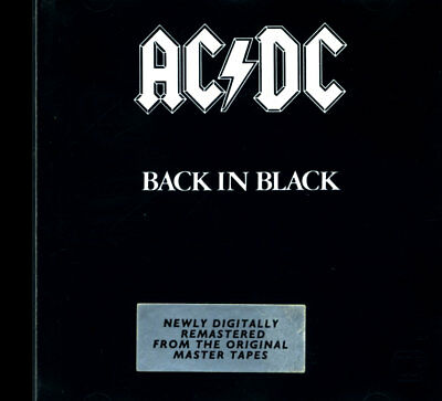 AC/DC  - Back In Black  ( Hells Bells, You Shook Me All Night Long ) [ CD ]