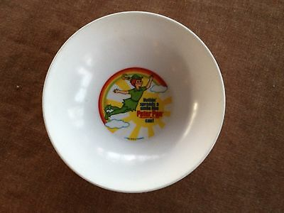 Peter Pan Cereal Bowl - Childrens - Vintage