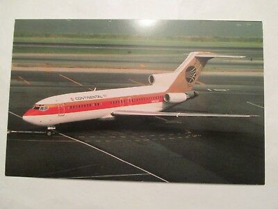 Continental Airlines Boeing 727 22 n40482 Aircraft Airplane Postcard