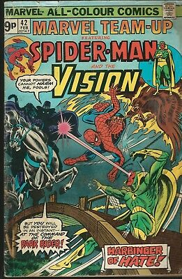 Marvel Team-up #42 Spider-Man and The Vision