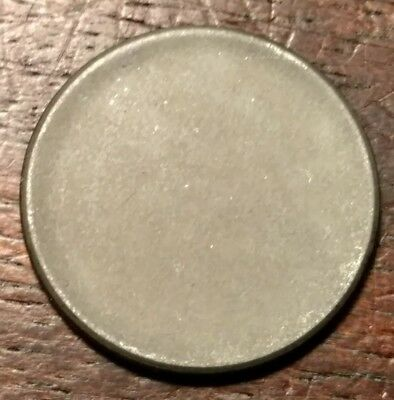 1943 Lincoln Steel Cent Blank Planchet 2144