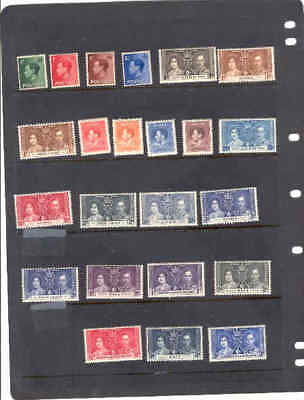 oldhal-British Commonwealth/Lot of Misc Mint stamps