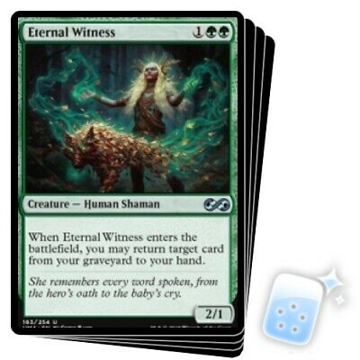 ETERNAL WITNESS X4 Ultimate Masters Magic MTG MINT CARD